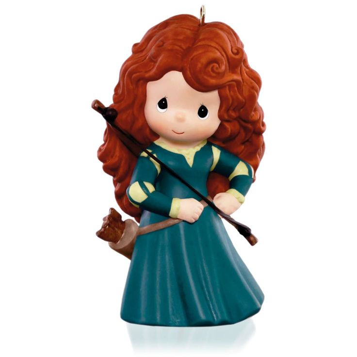 Hallmark 2015 Disney/Pixar Precious Moments Brave Princess Merida Ornament X.