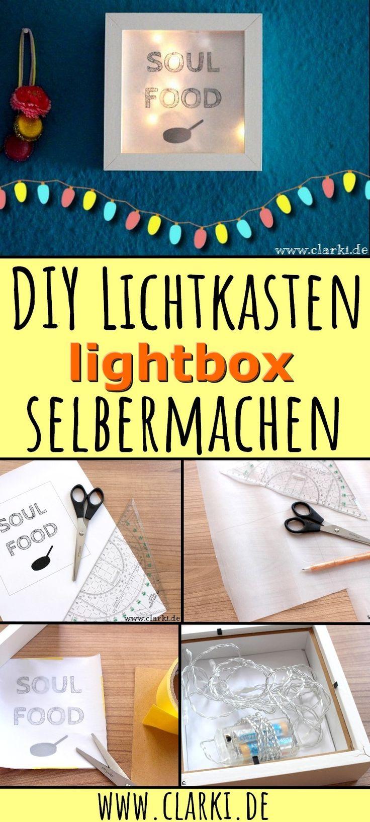107 besten diy lampen beleuchtung bilder auf pinterest - Lightbox buchstaben selber machen ...