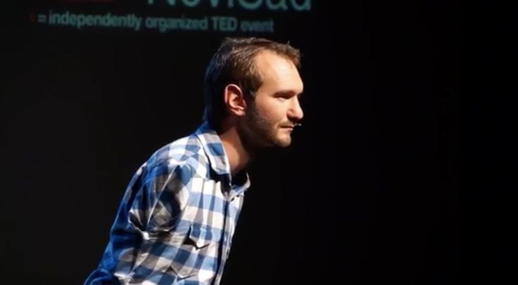 Overcoming hopelessness | Nick Vujicic | TEDxNoviSad --- Amazing man , real man , kind hearted man ,  >>>> I just hope if he could know about islam because I can see a real Muslim in him .