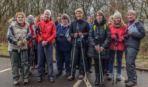 Clare Balding picks up the poles with British Nordic Walking - Tune in