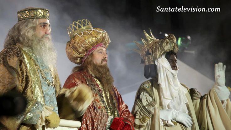 Dreikönigsfest, Cabalgata, in Madrid in Spanien