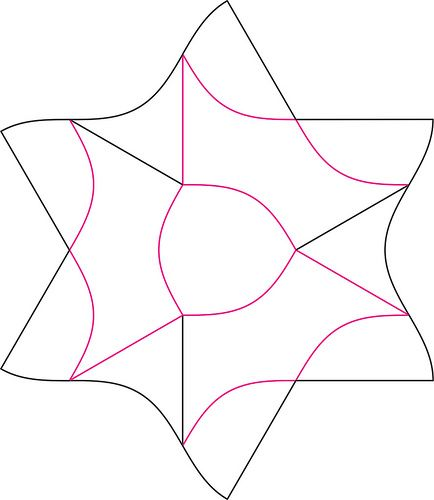 Adobong Box Crease Pattern by oschene, via Flickr