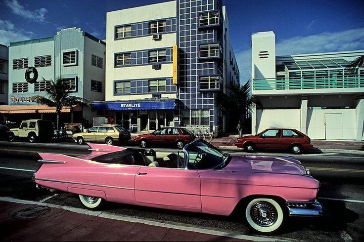 Cadillac rose en Floride