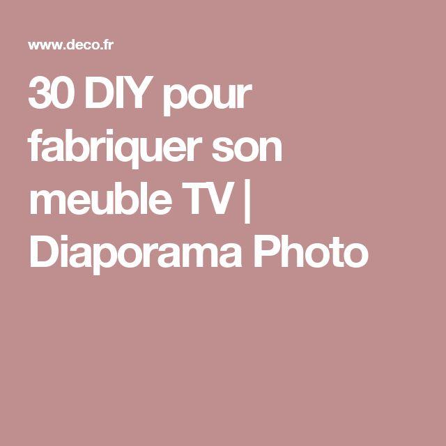 les 25 meilleures id es de la cat gorie fabriquer meuble tv sur pinterest fabriquer un meuble. Black Bedroom Furniture Sets. Home Design Ideas