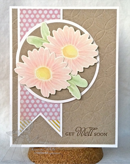 Get Well Soon Card By Shannon White #Cardmaking, #GetWell