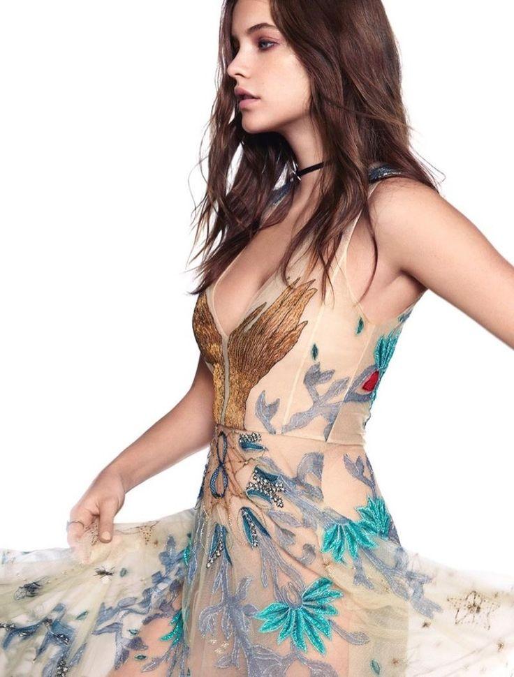 Barbara Palvin Models Glam Summertime Fashion in Harper's Bazaar Greece