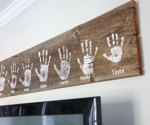 Handprint Wall Sign-3