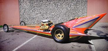 Ed Roth Custom Cars: Yellow Fang
