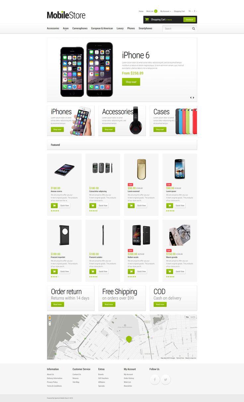 169 best opencart themes images on pinterest. Black Bedroom Furniture Sets. Home Design Ideas