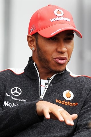 Lewis Hamilton (GBR) McLaren. Formula One World Championship, Rd10, German Grand Prix, Preparations  © Sutton Images.