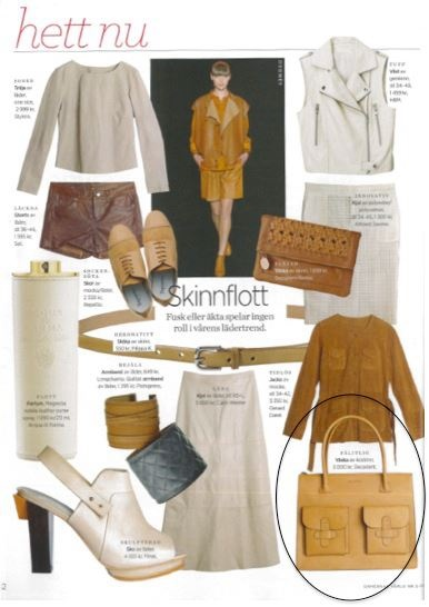 As seen in Damernas (DK) - Page 42: The Decadent bag