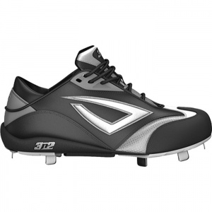 Womens 3N2 Fastpitch Softball Cleats Black Leather - ONLY $64.45