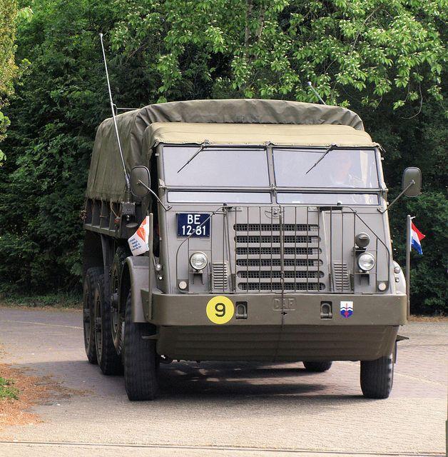 DAF YA328, Royal Dutch Army