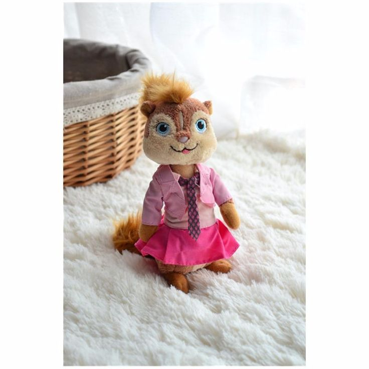 16 см Элвин и бурундуки 4 игрушки Бретани Мыши Мягкие игрушки Плюшевые Куклы купить на AliExpress