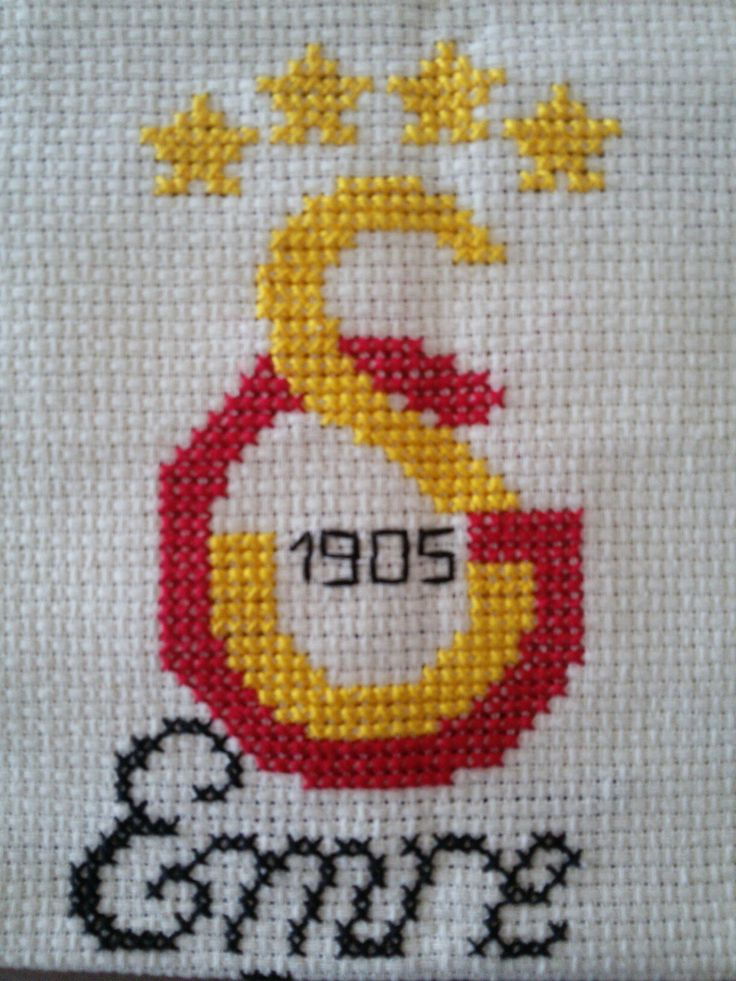 Galatasaray cross stitch football