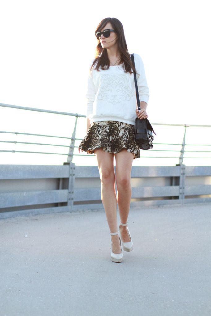 """SUMMER SUNSET""Leopards Skirts, Summer Sunsets, Torres Stylescrapbook, Prints Skirts, Fashion Inspiration, Animal Prints, Style Scrapbook, Andy Torres, Clothfashion Nets"