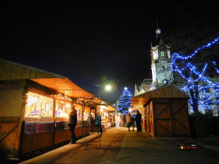 "Before Christmas in my city, "" Christmas market "" Kiskunfelegyhaza, Hungary, Nikon Coolpix L310, 4.5mm, 1s, ISO80, f/3.1, HDR-Art photography, 201612101652"