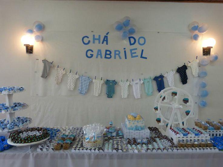 decoração de chá de bebe
