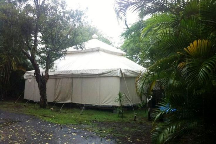 Spetted a Huge Resort Tent in the Wilderness, A Perfectly placed Camp.