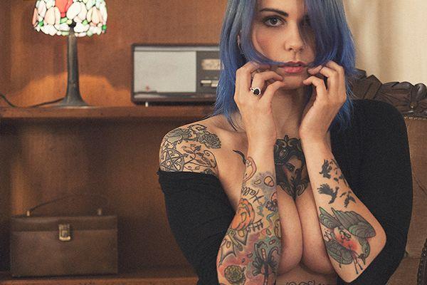 Ultima Suicide for Stefano Girardi #model #modella #suicidegirl #ultima #suicide #sg #fotografo #professionista #tattoo #tattooed #girl #sexy #hot #boobs