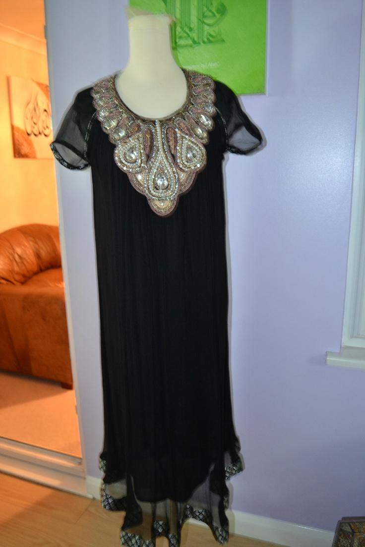 Black Dress Trouser Suit