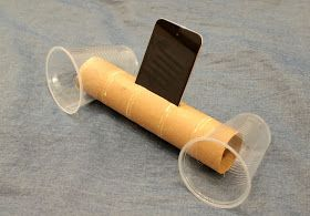 simple diy ipod speakers from cardboard roll