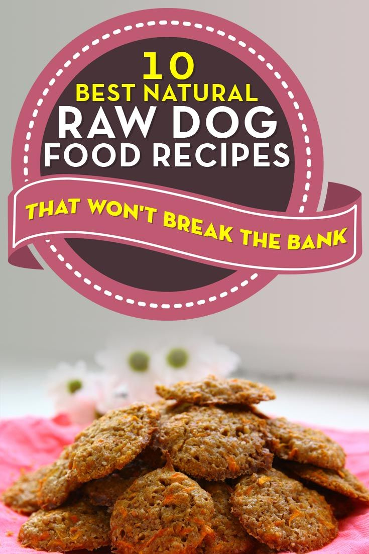 Natural Raw Diet Recipes For Dogs