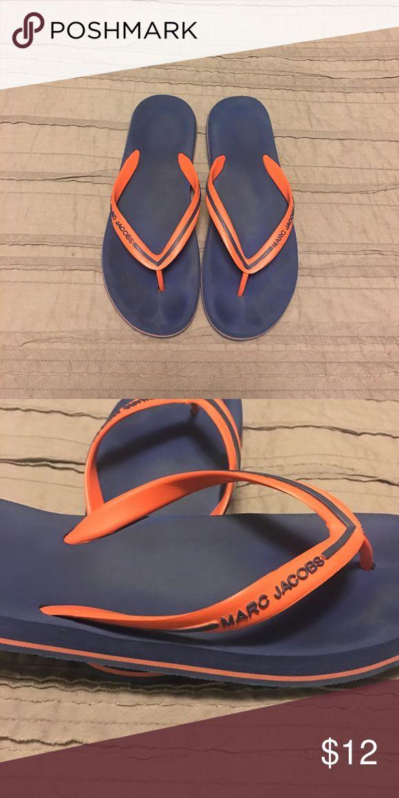 Marc Jacobs Sandals Blue and orange flip flops Shoes Sandals