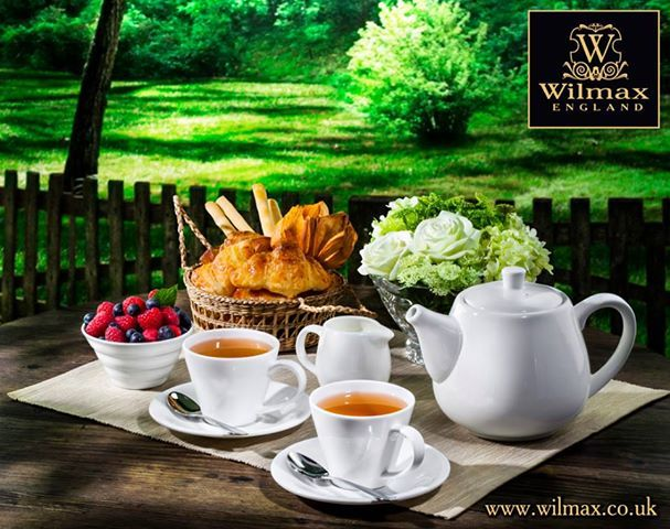 WILMAX TEATIME. Morning in a summer house. Isn't it simply wonderful to wake up in a summer house away from the hustle and bustle of the city and smell freshly baked muffins? Have a little party with Sunday tea. WILMAX tea set is a perfect choice for a country cottage, it is light and space-saving and at the same time very beautiful and convenient.