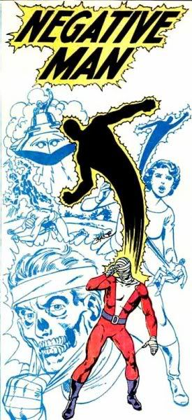 Negative Man - drawn by John Byrne, Who's Who, 1985