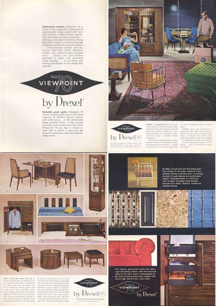 54 Best Images About Mcm Drexel Furniture On Pinterest