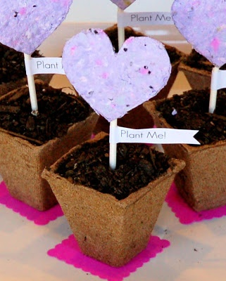 Make your own seed paper. Pretty, environmentally friendly and fun! For community supporters.
