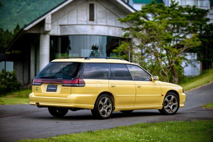 Subaru Legacy 2.0 GT-B Touring Wagon (BD) '1996–98