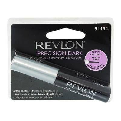 Pegamento para pestañas Revlon  precision dark 5 ml