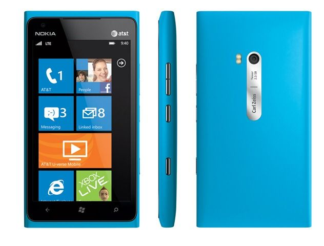 "The Nokia Lumia 900 (Cyan) offers an amazing balance of speed, power, and size with rear-facing and front-facing cameras, 4.3"" AMOLED ClearBlack screen and LTE connectivity."