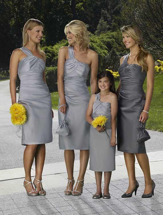 Silver Wedding Bridesmaid Ideas   #Silver #Bridesmaid #Dress