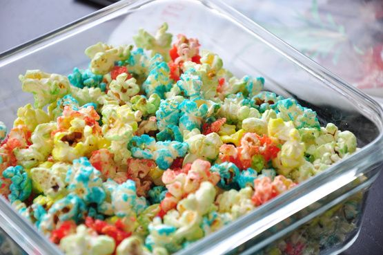 how to make flavored popcorn with kool aid
