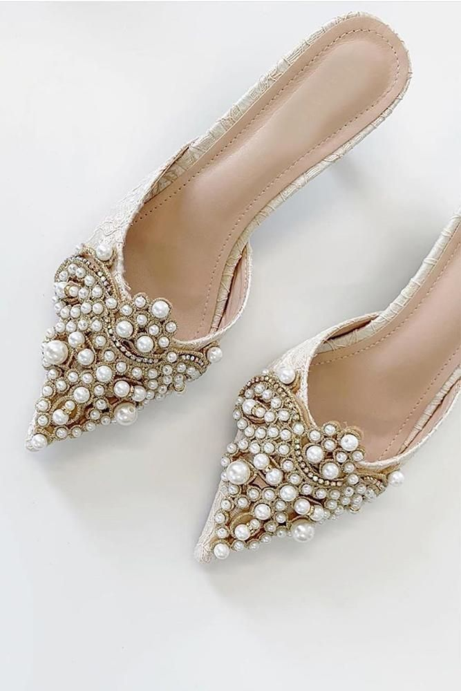 30 Officially The Most Gorgeous Bridal Shoes Bridal Shoes Best