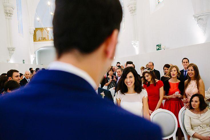 La llegada de la novia en el Hotel catedral Pamplona