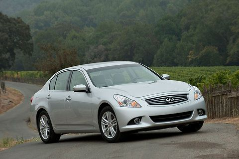 What I Learned the Hard Way About Leasing a Car _ Shown:  the Infiniti that the writer leased.