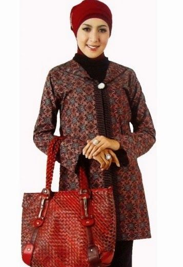 Model-Baju-Batik-Wanita-untuk-Kerja.jpg (357×521)