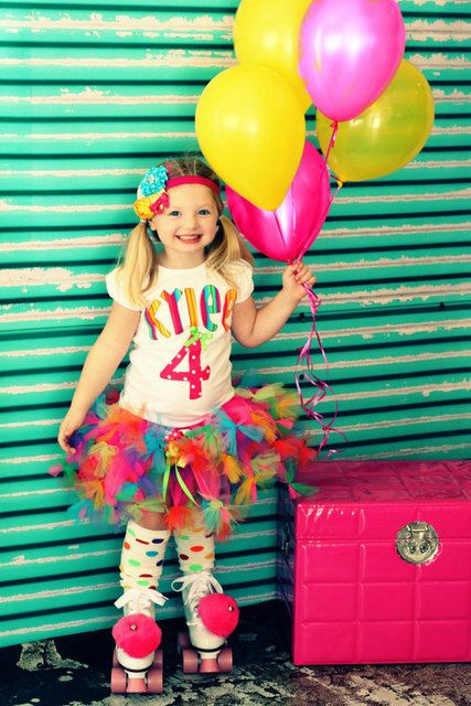 Monster tutu Might have ky hold 5balloons on her bday