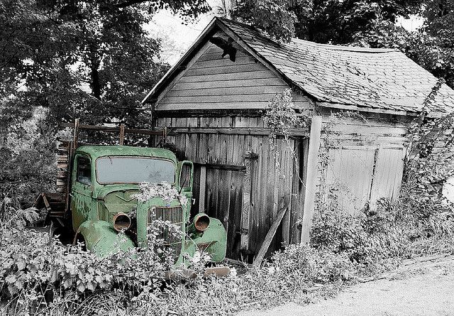 Old Ford Truck by Jake~o, via Flickr