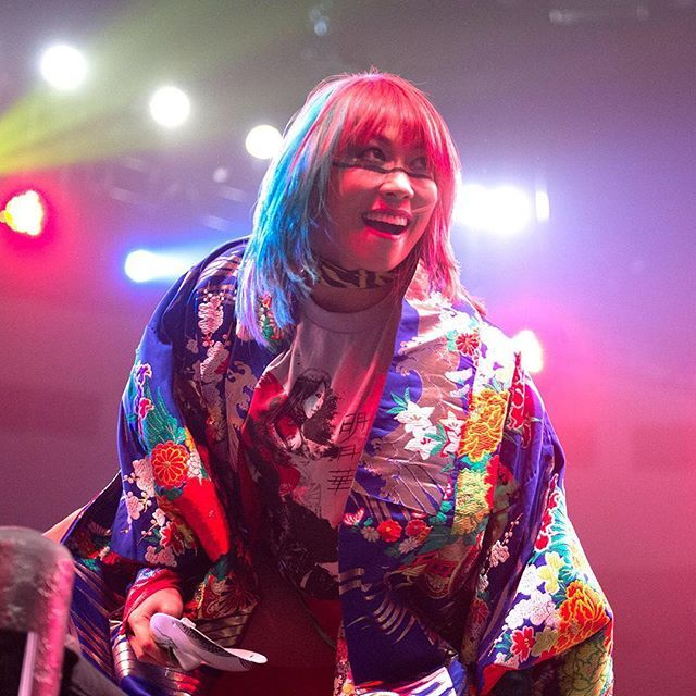 Happy Birthday to your @wwenxt #WomensChampion, the UNDEFEATED @wwe_asuka! #HappyBirthdayAsuka