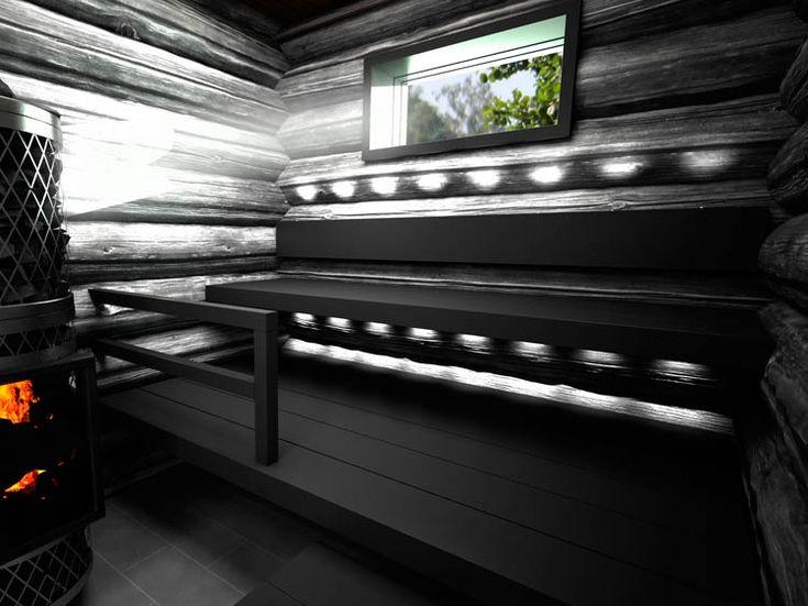 mustat hirret sauna - Google Search