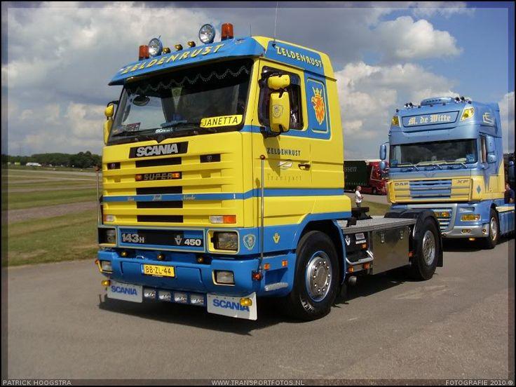 Scania 143h / 450 - Zeldenrust Gieten Holland.