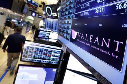 Valeant Pharmaceuticals Picks Joseph Papa Perrigo Chief as C.E.O.
