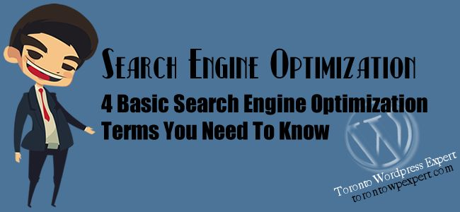 4 Basic SEO Terms You Need To Know