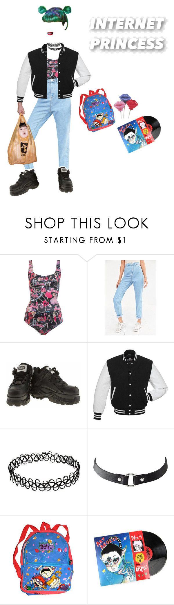 """WGG - Claw"" by smartgirlzrock ❤ liked on Polyvore featuring beauty, Miss Selfridge, BDG, CO, Charlotte Russe, Nickelodeon, clotheshavenogender, Weirdgirlsgangsgr and Weirdfriendssgr"