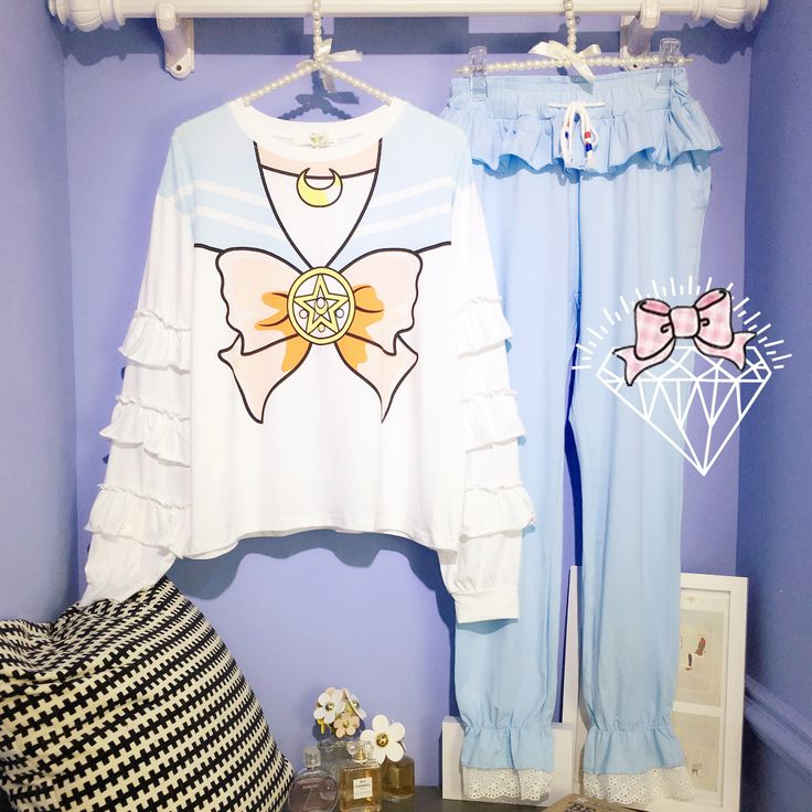 Girly Girl Shirts Pajamas on Girly Girl の To Alice.Girly Pretty Sailormoon Laced Pajamas Sweet Cos Sleepwear know you best than yourself !